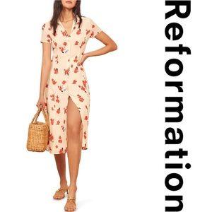 Reformation Dresses - Reformation Sheila Floral Dress